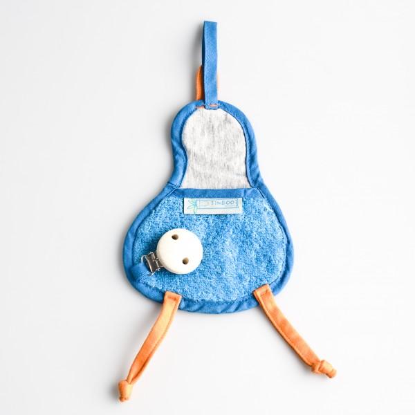 Speendoekje eend – Turquoise