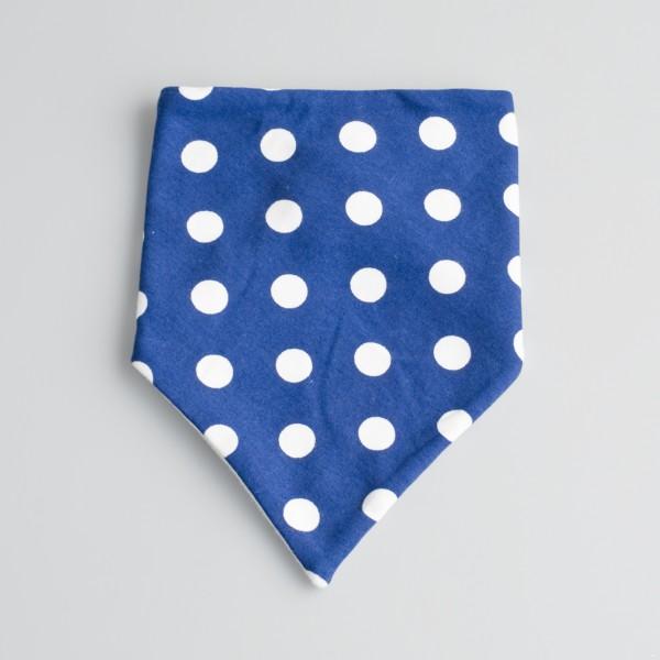 Bandana Blue Polka Dot