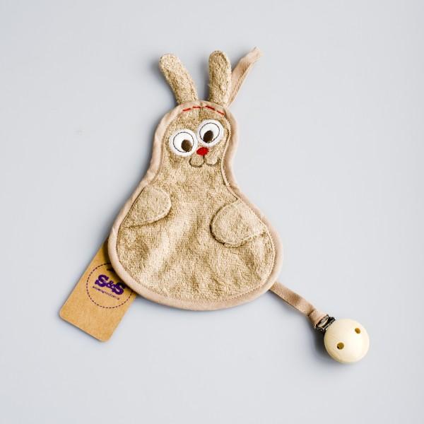 Speendoekje konijn – Zand