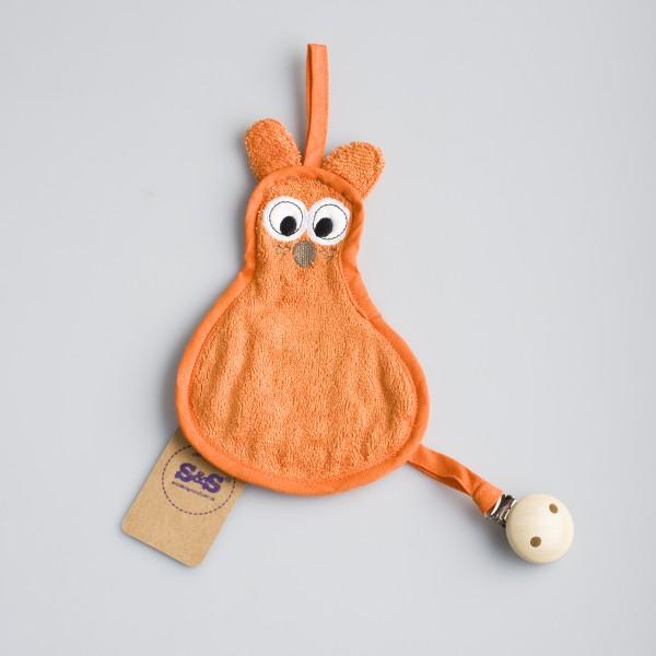 Speendoekje beer – Oranje